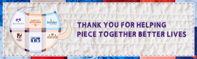 Thank You for helping piece together better lives